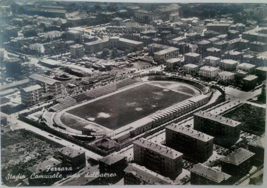 Stadio Paolo Mazza nel 1957